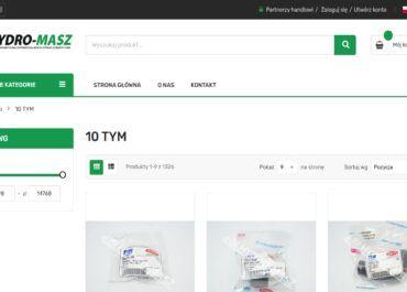 Jesteśmy Centralnym Magazynem Części marki TYM w Europie